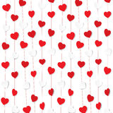 Happy valentine day greeting design Royalty Free Stock Images