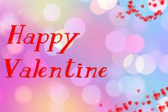 Happy valentine day. Valentine`s background, wallpaper happy Valentine be my Valentine. Love aspect Stock Images