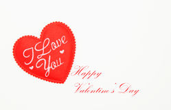 Happy valentine day Stock Photography