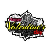 Happy valentine day symbol for flyer, poster, banner, web header. EPS file available. see more images related royalty free illustration