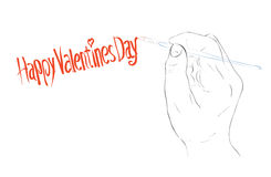 Happy Valentine Day Royalty Free Stock Image