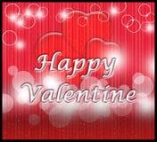 Happy valentine e-card Royalty Free Stock Photos