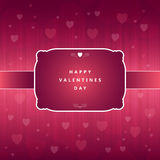 Happy Valentine Greeting Stock Photography