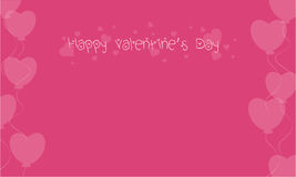 Happy Valentine on pink backgrounds. Collection stock vector illustration
