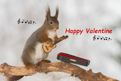 Happy Valentine Royalty Free Stock Photography