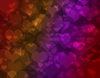 Happy Valentine's background. Royalty Free Stock Photos