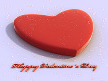 Happy Valentine´s Day. Valentine's wallpaper whit love theme and nice water drops Royalty Free Stock Photos