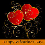 Happy Valentine's Day! Royalty Free Stock Photos