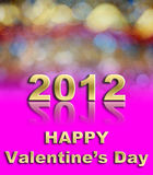 Happy Valentine's day. Happy Valentine day using for holiday background Stock Photography