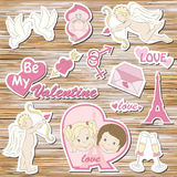 Happy valentine`s day Stock Photography