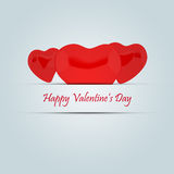 Happy valentine's day. Heart Royalty Free Stock Photography