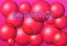 Happy Valentine's Day! Royalty Free Stock Photos