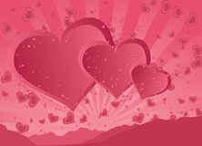 Happy Valentine's Day stock illustration