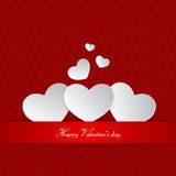 Happy Valentine's Day Background Royalty Free Stock Photography