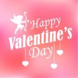 Happy Valentine's Day Background Stock Photography