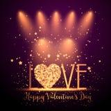 Happy Valentine's Day background Stock Photo