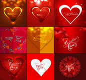 Happy valentines day beautiful background for card Royalty Free Stock Image
