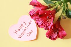 Happy Valentine`s Day royalty free stock image