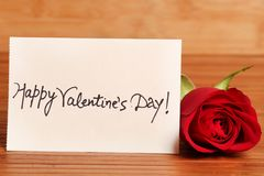 Happy valentine`s day royalty free stock photo