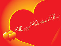 Happy Valentine's day card Stock Photos