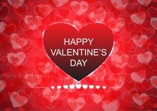 Happy valentine`s day card background Stock Photo