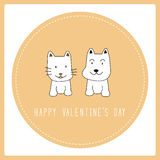 Happy valentine s day card6 Stock Photography