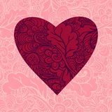Happy Valentine's Day Card Stock Images