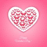 Happy Valentine's Day Card Stock Photo