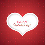 Happy Valentine's day Card Stock Photo