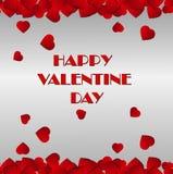 Happy Valentine`s Day Card Royalty Free Stock Photos