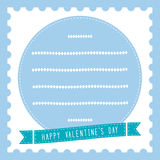Happy valentine s day card19 Royalty Free Stock Images