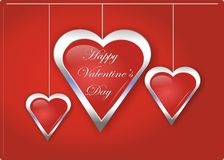 Happy Valentine' s Day card love and romance Stock Photo