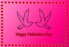 Happy Valentine`s Day Stock Image