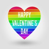 Happy Valentine`s Day - Card royalty free stock photos