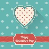 Happy Valentine`s Day card Royalty Free Stock Photo