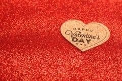 Happy Valentine`s Day cart Stock Photos