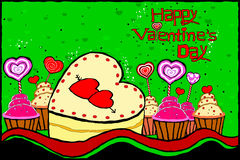 Happy Valentine's Day celebration background Royalty Free Stock Photos