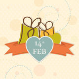 Happy Valentine's Day celebration concept. Stock Photography