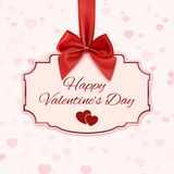Happy Valentine's day classic banner Stock Photos