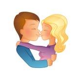 Happy Valentine's day, couple image Royalty Free Stock Image