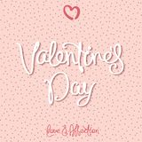 Happy Valentine`s Day design Royalty Free Stock Images