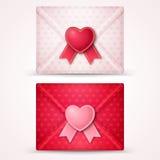 Happy Valentine's Day Envelopes vector illustration