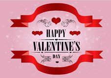Happy Valentine's Day Greeting Card Stock Images