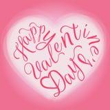Happy Valentine's day Greeting Card Stock Photos