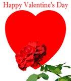Happy Valentine's Day Stock Photography