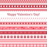 Happy Valentine's Day. Greeting card Stock Images