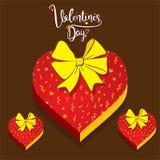 Happy valentine`s day greeting Stock Image