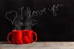Happy Valentine`s day stock photos