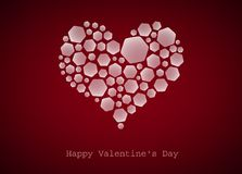 Happy Valentine\'s Day, heart Stock Photography