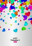 Happy Valentine`s day. Royalty Free Stock Photos